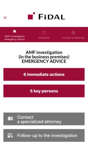 FIDAL lance son application mobile dédiée aux procédures d'enquêtes menées par l'Autorité des Marchés Financiers