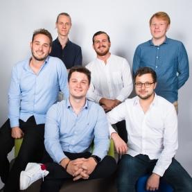 L'équipe étudiante fondatrice de Simplyfee