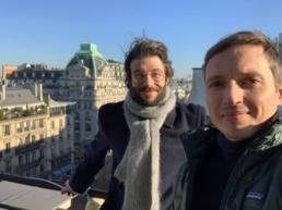 Les fondateurs Thibaut Sahaghian et Théophile Villard