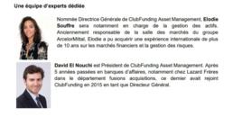ClubFunding annonce la création de la société de gestion ClubFunding Asset Management et le lancement d'un premier fonds d'investissement dédié à l'immobilier