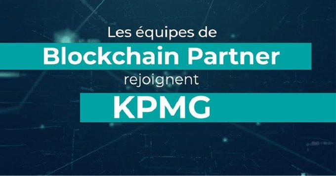 Les équipes de Blockchain Partner rejoignent KPMG France avec pour objectif de former la référence du conseil blockchain et crypto-actif