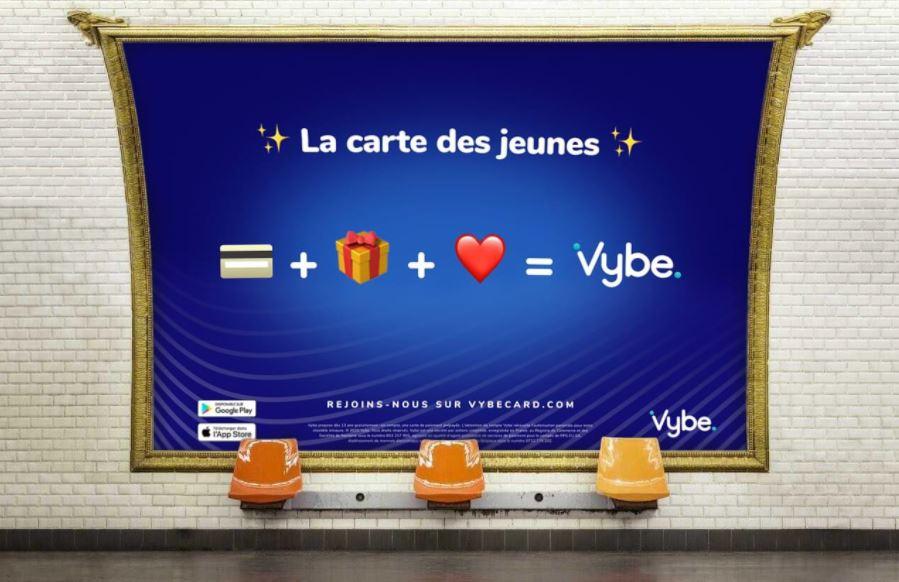 Vybe crée une nouvelle fois la rupture dans l'univers bancaire