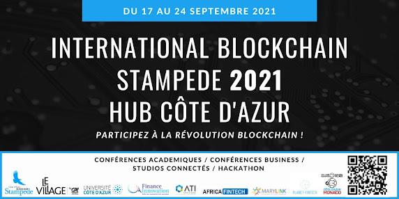 Rendez-vous du 17 au 26 septembre 2021 à l'International Blockchain Stampede