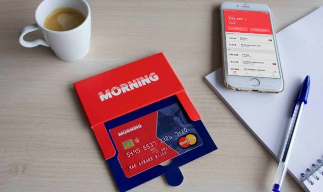 Morning lance une carte Mastercard innovante