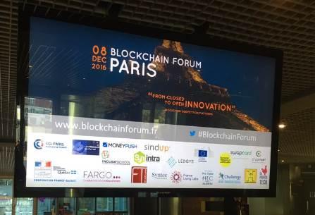Retour sur le Forum Blockchain de décembre 2016...