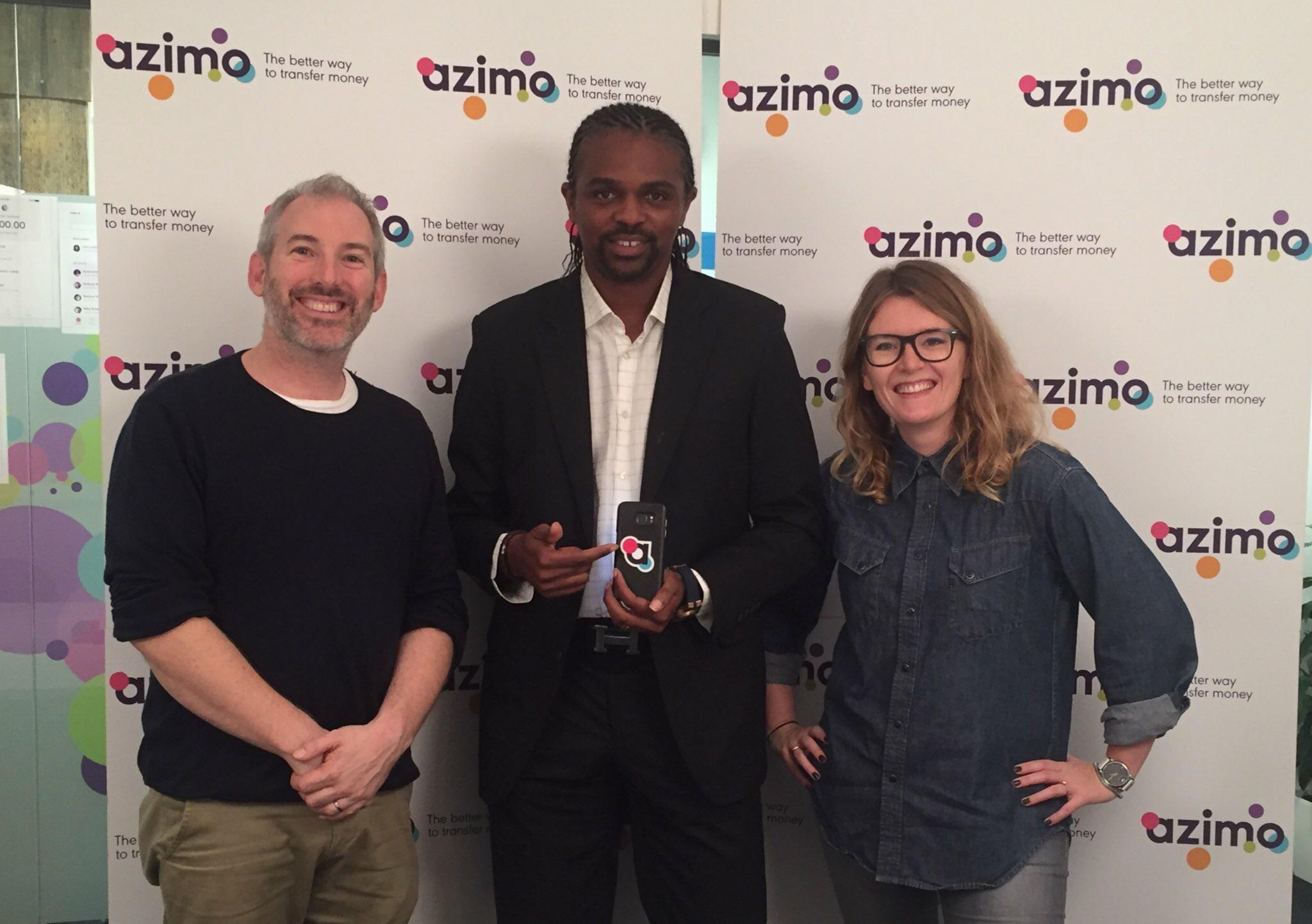 Le footballeur Kanu devient ambassadeur d'Azimo pour le lancement de son nouveau service au Nigeria