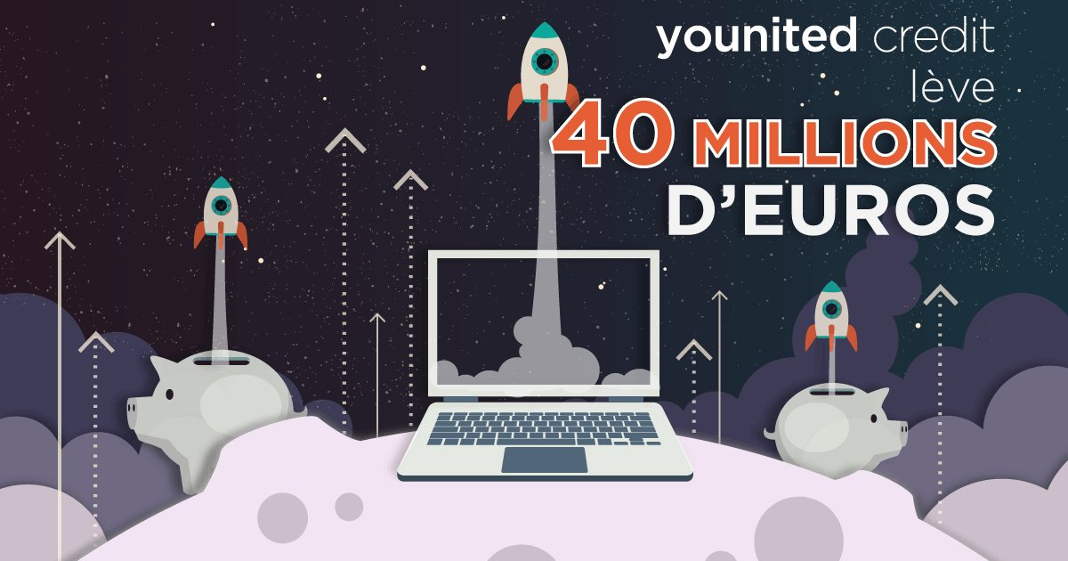 Younited Credit réalise une augmentation de capital de 40 millions d'euros