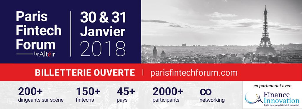 Paris Fintech Forum : découvrez les 150 fintechs de 34 pays sélectionnées