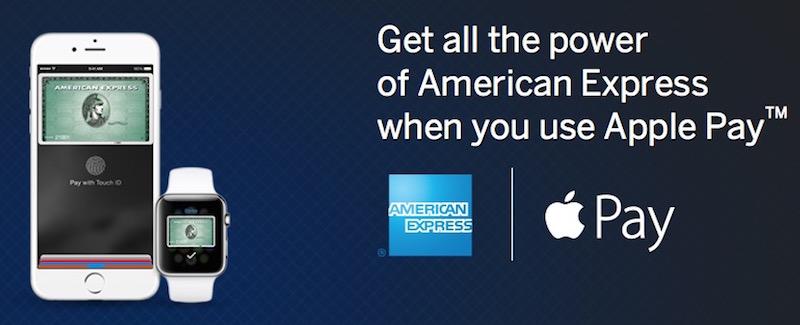 American Express proposera prochainement le paiement par Apple Pay à ses clients en France