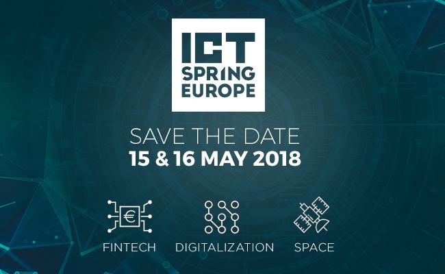 ICT Spring Europe 2018 à Luxembourg : la fintech parmi les thématiques à l'honneur