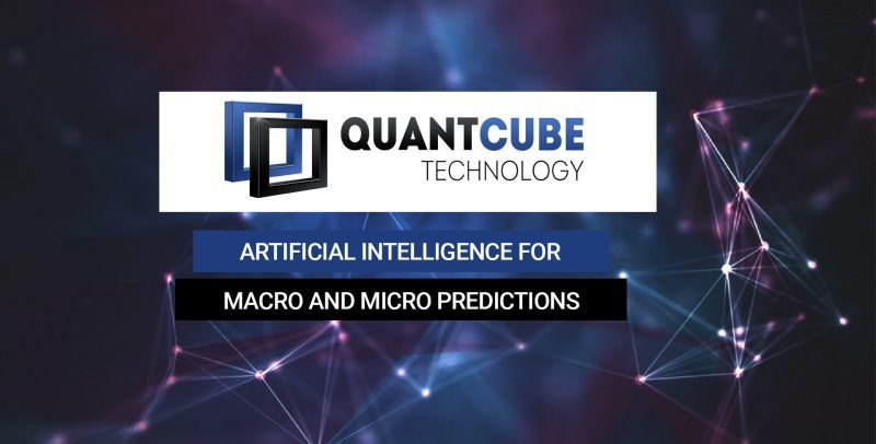 QuantCube Technology réalise une levée de fonds Series A de 5 millions de dollars auprès de Moody's Corporation et Five Capital
