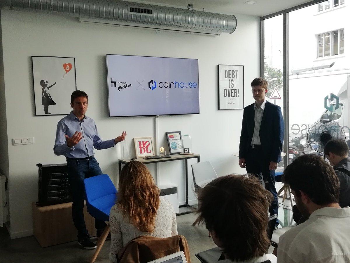 """Havas Blockchain et Coinhouse s'associent pour lancer la première offre d'accompagnement des grands comptes dans la """"token economy"""""""
