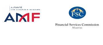 L'Autorité des marchés financiers et la Financial Services Commission, Mauritius signent un accord de coopération dans le domaine des Fintechs