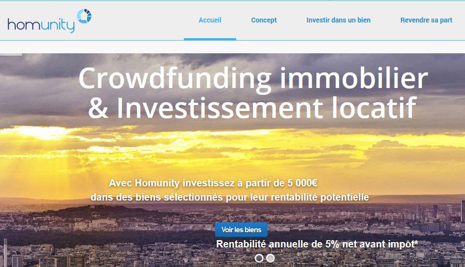 Homunity première plateforme 100% immobilier à passer la barre des 30 millions levés