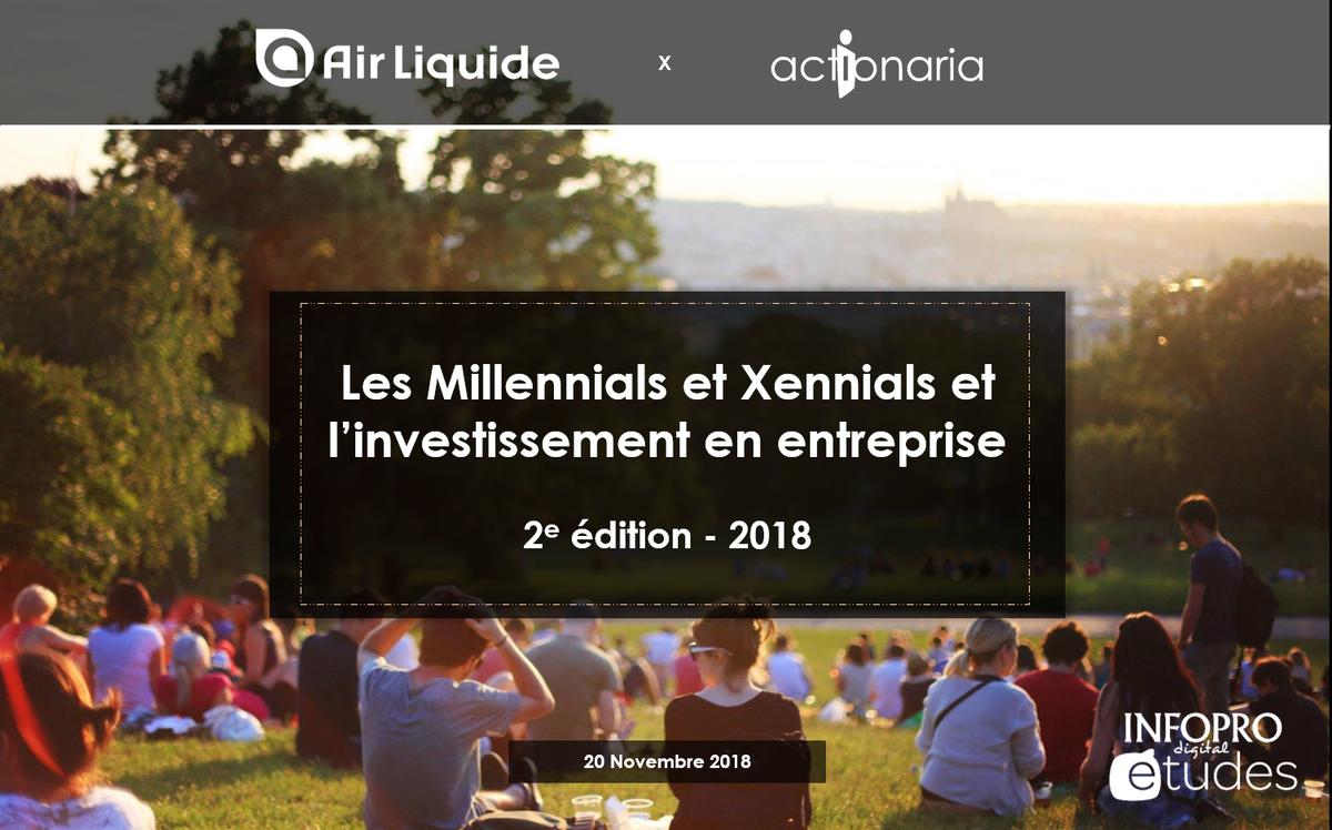 Millennials et Xennials et l'investissement en entreprise