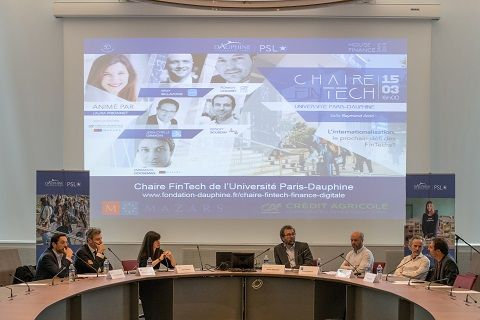 Table ronde de la Chaire FinTech' de l'Université Paris-Dauphine