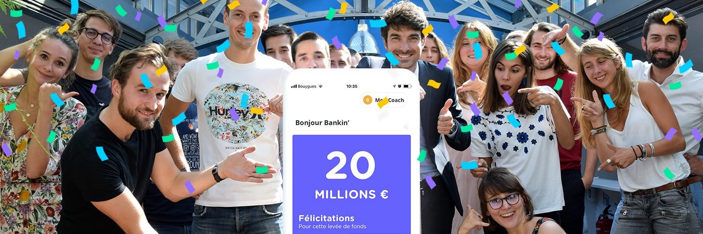 La fintech Bankin' lève 20 millions d'euros auprès du groupe Casino