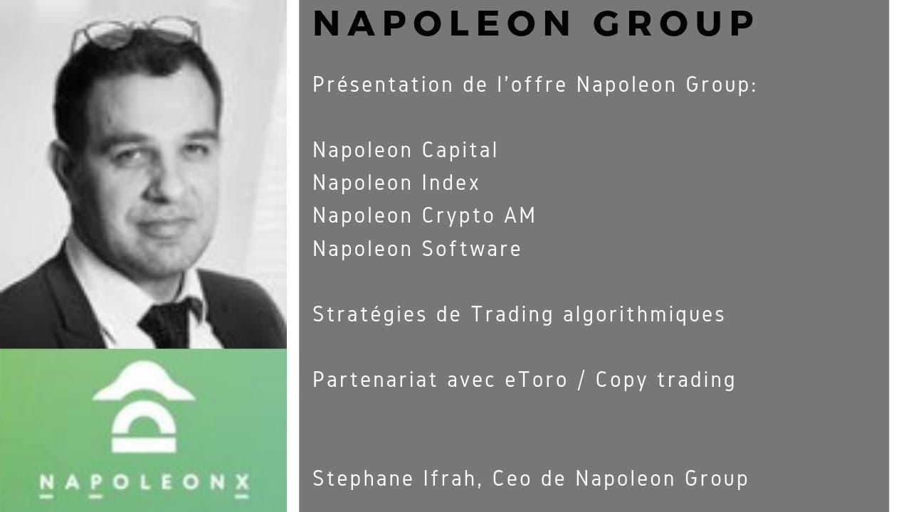 Investissement Crypto : NapoleonX, Stephane Ifrah