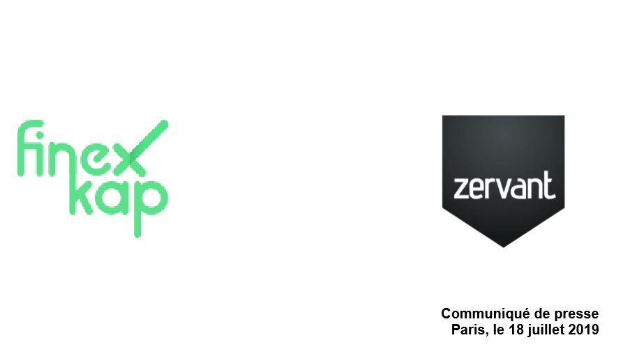 Finexkap et Zervant lancent la trésorerie intégrée pour  les start-ups et les travailleurs indépendants