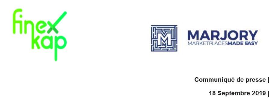 Partenariat Finexkap et Marjory : une solution de trésorerie clés en main dédiée aux marketplaces B2B