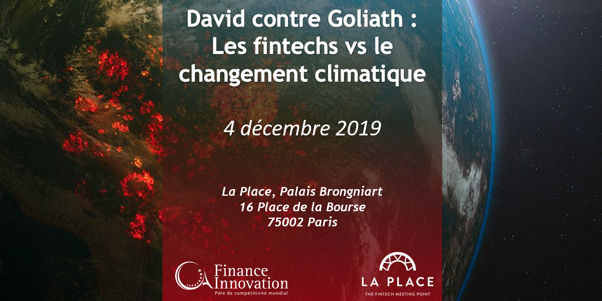 David contre Goliath : Les fintechs vs le changement climatique