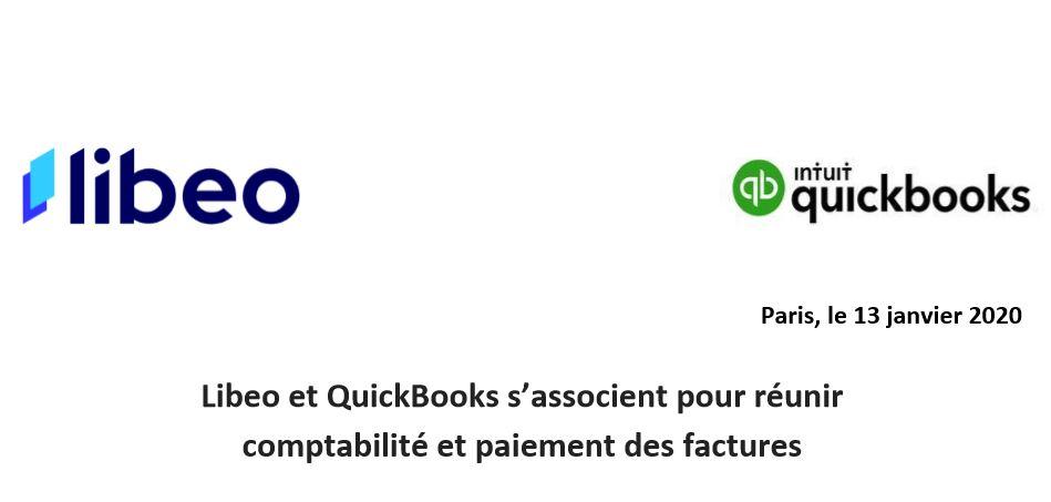 Libeo et QuickBooks s'associent pour réunir  comptabilité et paiement des factures