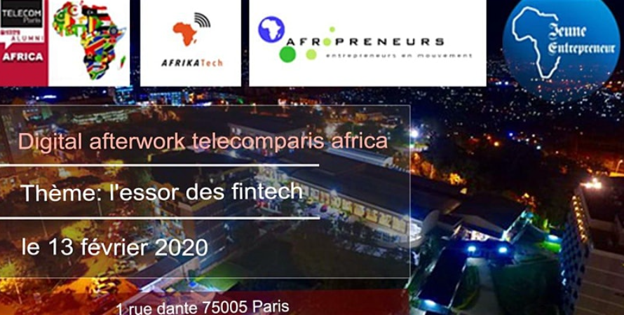 Digital Afterwork Club Telecom Paris Africa spécial Fintech