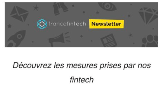 COVID-19 : les fintech françaises se mobilisent...