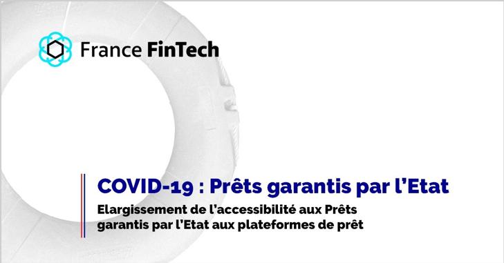 France Fintech se félicite de l'élargissement du dispositif de PGE aux plateformes de crowdlending