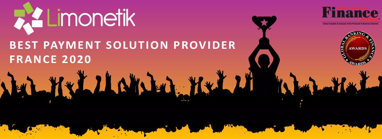 Limonetik nommé Best Payment solution Provider France 2020 lors des Global Banking & Finance Awards®