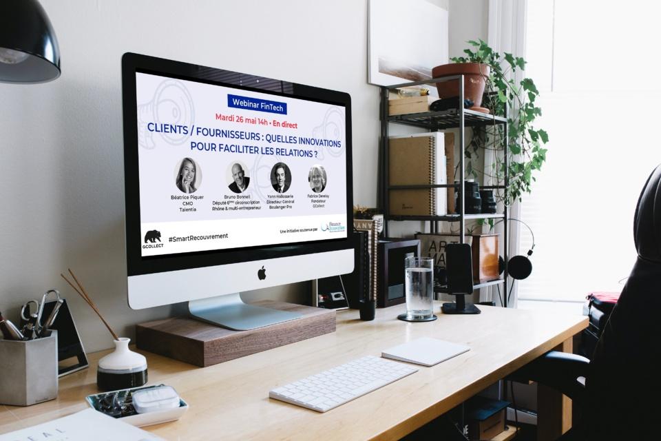 Webinar post confinement - Clients / fournisseurs : quelles innovations pour faciliter les relations ?