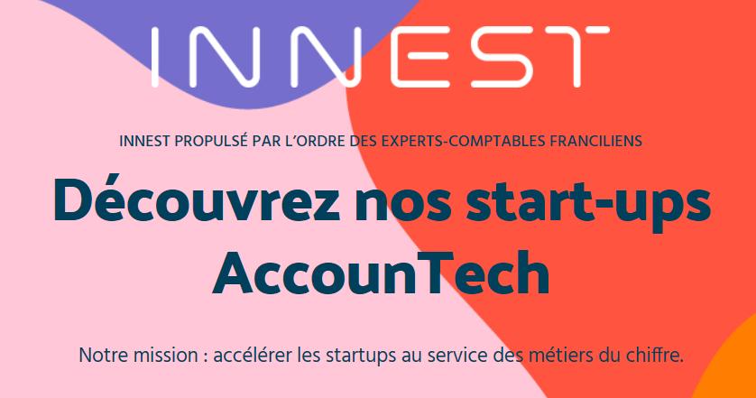 INNEST lance sa première promotion de start-ups AccounTech