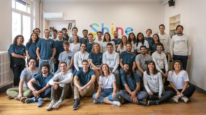 L'équipe de Shine franchit une nouvelle étape en rejoignant la Société Générale !