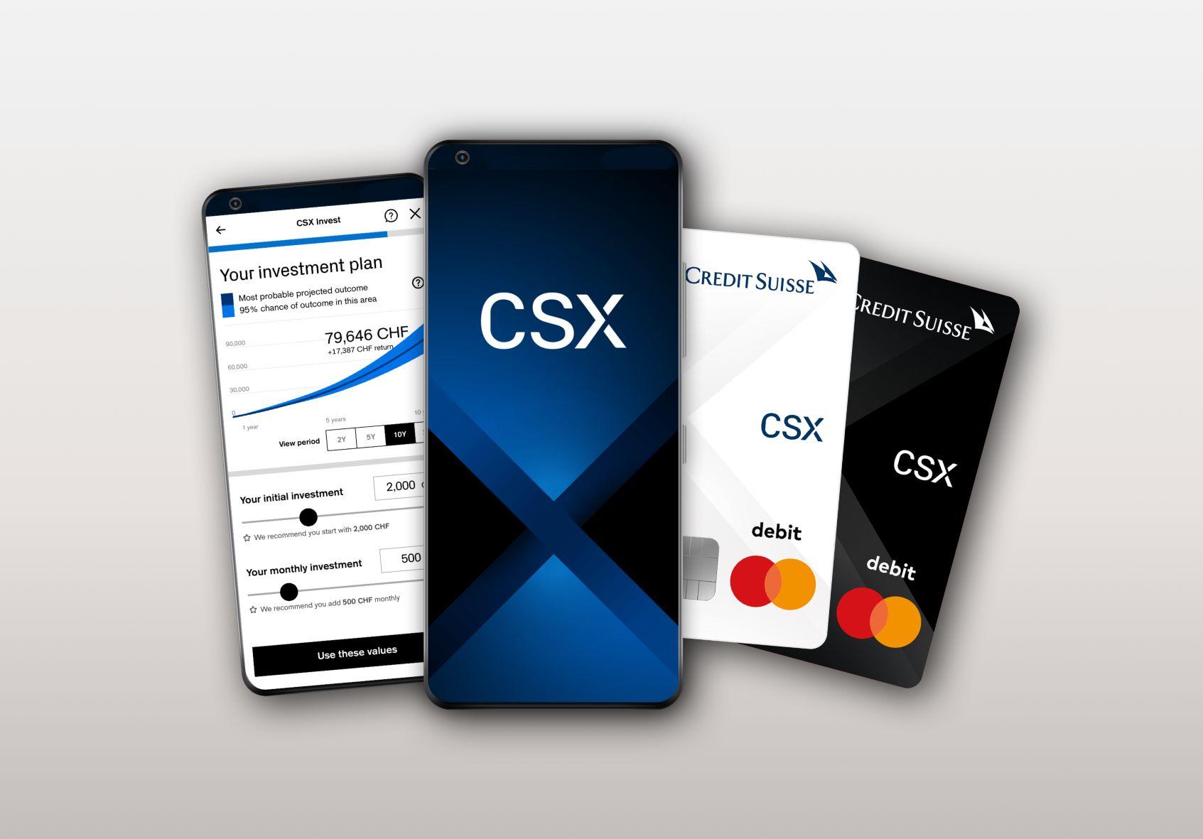 Credit Suisse lance une nouvelle offre bancaire numérique pour concurrencer les fintech