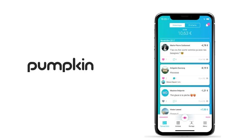 La fintech Pumpkin lance son compte courant avec carte bancaire