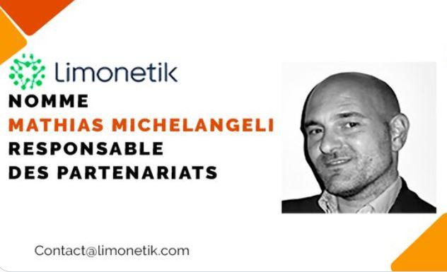 Limonetik nomme Mathias Michelangeli Responsable des partenariats