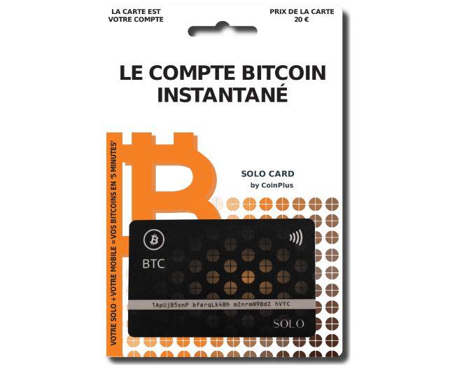 CoinPlus lance le premier compte Bitcoin instantané en France