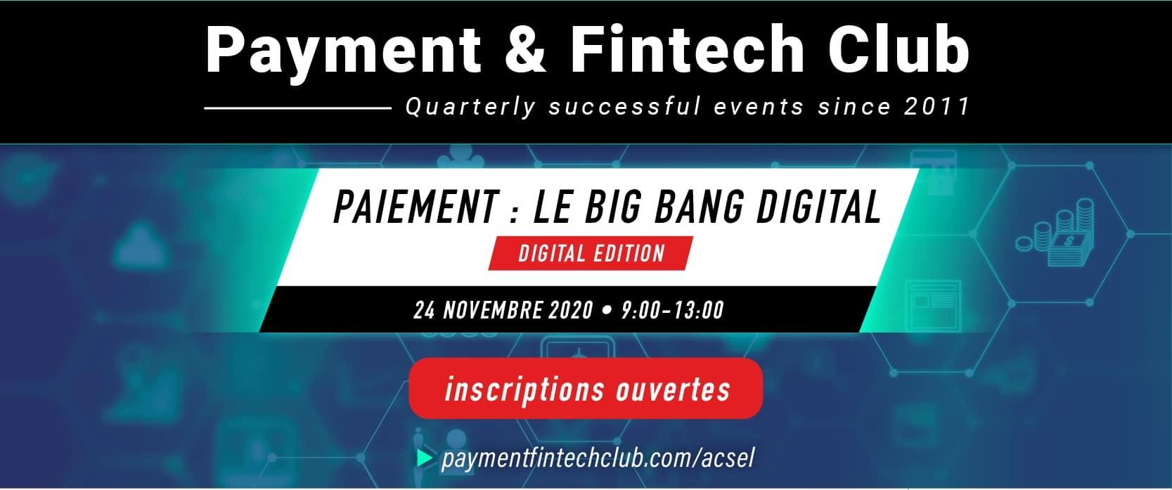 Paiement : le Big Bang digital
