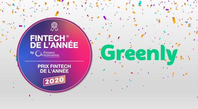 Greenly remporte le prix de la Fintech de l'Année 2020