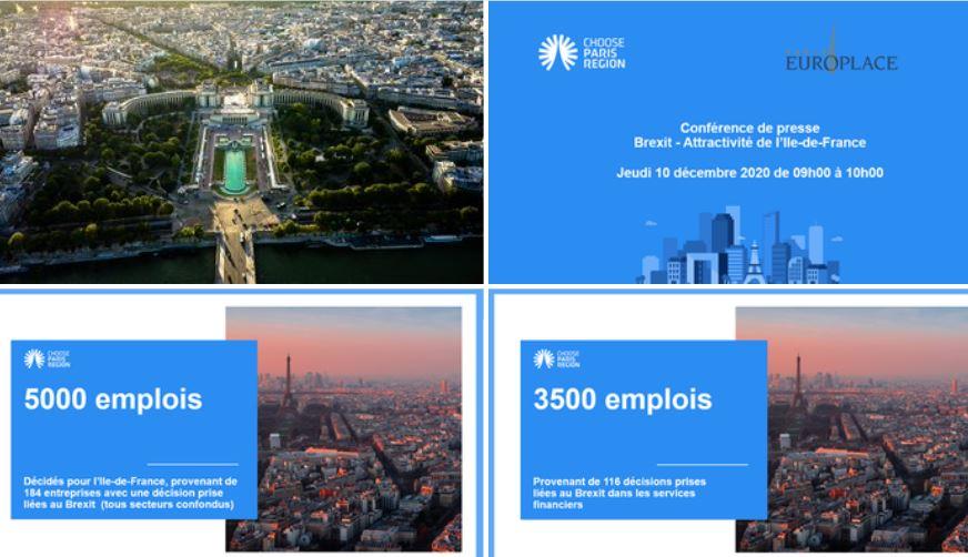 L'impact du Brexit sur la localisation d'activités FinTech en région Ile-de-France et sur la place financière de Paris