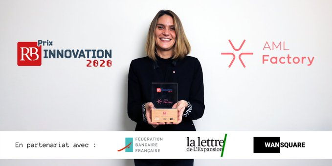AML Factory lauréat du prix RB Innovation 2020