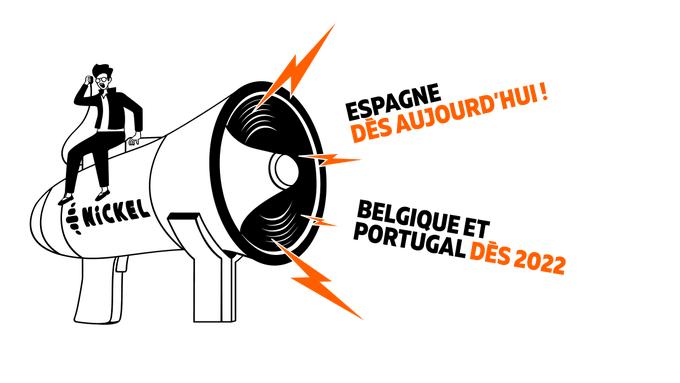 NiCKEL poursuit son expansion européenne avec un déploiement au Portugal et en Belgique dès 2022 après son lancement en Espagne