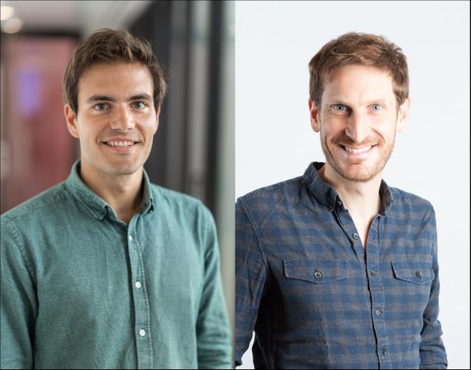 Firmin Zocchetto, CEO & Co-fondateur de PayFit ; Alexandre Prot, CEO & Co-fondateur de de Qonto