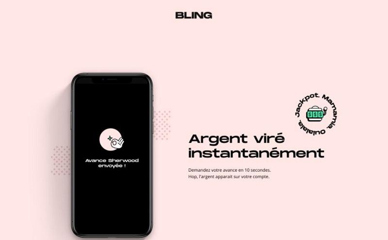 4 millions d'euros avancés par Bling, la 1ère App qui dépanne jusqu'à 100€
