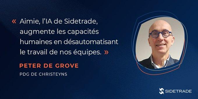 Acteur majeur de l'hygiène hospitalière en France, Christeyns protège sa trésorerie et l'efficacité de ses équipes avec Sidetrade