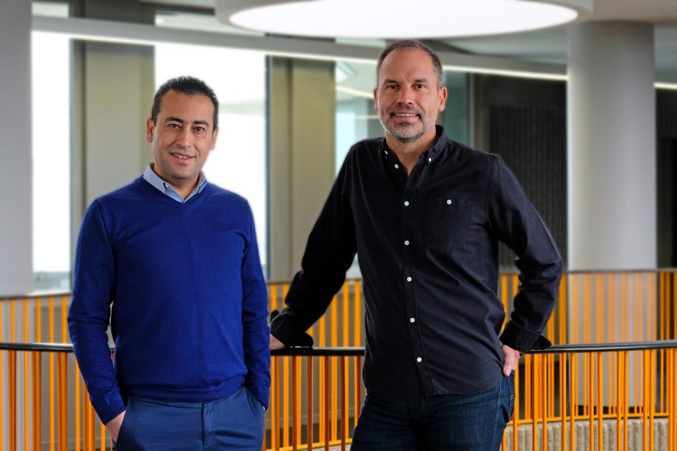 Noureddine Bekrar et Christophe Dandois, co-fondateurs de Leocare