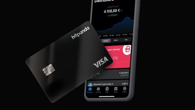 Bitpanda lance la première carte de débit qui permet de payer avec n'importe quel type d'actif