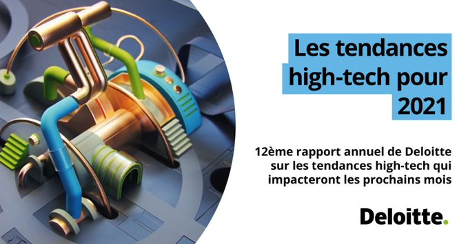 Deloitte dévoile les tendances high-tech pour 2021