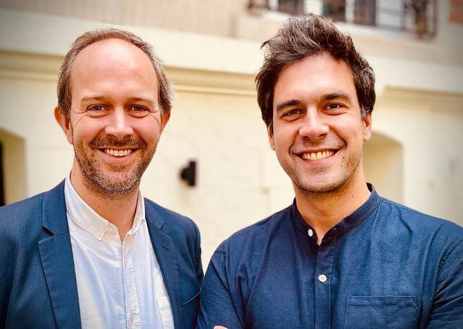 Gautier Delabrousse-Mayoux et  Charles Duclert