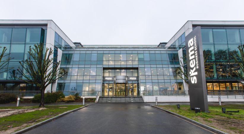 Le Campus Grand Paris de SKEMA où se dérouleront les cours  du nouveau programme Msc Sustainable Finance & Fintech